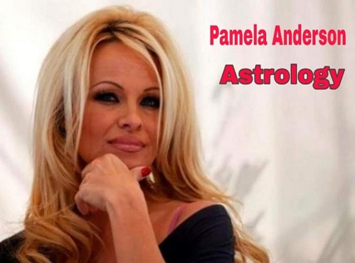 Pamela Anderson Astrology