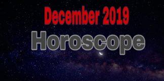 December 2019 horoscope