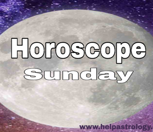 Sunday Horoscope