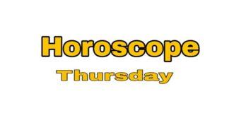Thursday Horoscope