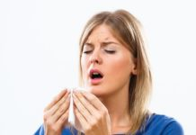 What is the effect of sneezing