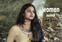 women & hair