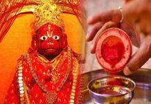 Why do we offer vermilion to Hanuman ji